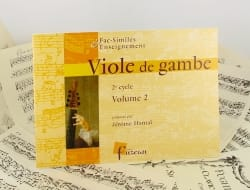 Jérôme Hantaï - Viola da gamba - 2nd Cycle - Volume 2 - Sheet Music - di-arezzo.com