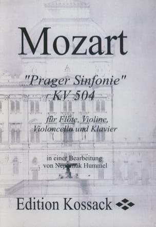 Prager Sinfonie KV 504 (Stimmen) –Flöte Violine Violoncello Klavier - laflutedepan.com