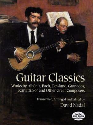David Nadal - Guitar classics - Partition - di-arezzo.fr