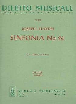Symphonie N° 24 - Joseph Haydn - Partition - laflutedepan.com