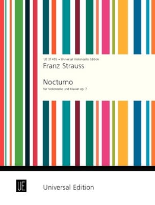 Nocturno op. 7 - Franz Strauss - Partition - laflutedepan.com