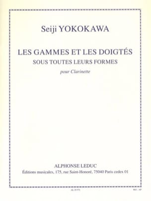 Seiji Yokokawa - Les gammes et les doigtés - Partition - di-arezzo.fr