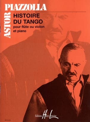 Astor Piazzolla - History of Tango - Flute or violin and piano - Partition - di-arezzo.co.uk