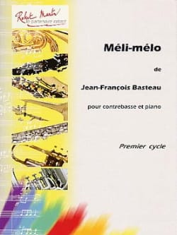 Jean-François Basteau - Méli-Mélo - Partition - di-arezzo.fr