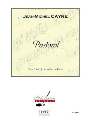 Pastorale - Flûte Jean-Michel Cayre Partition laflutedepan