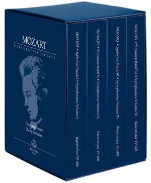 Complete Symphonies - MOZART - Partition - laflutedepan.com
