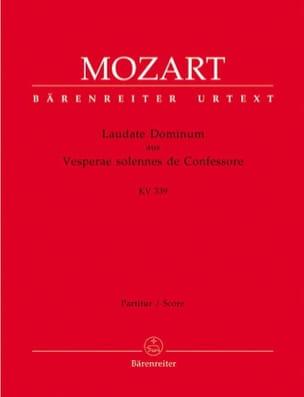 Wolfgang Amadeus Mozart - Laudate Dominum aus KV 339 – Partitur - Partition - di-arezzo.fr