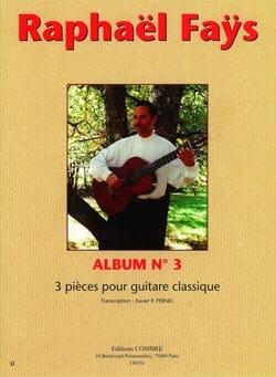 Raphael Faÿs - Album n ° 3 - Sheet Music - di-arezzo.co.uk