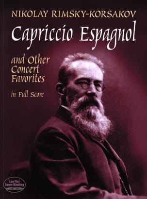 Nicolaï Rimsky-Korsakov - Capriccio Espagnol And Other Concert Favorites - Partition - di-arezzo.fr