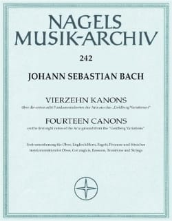 BACH - 14 Guns BWV 1087 Uber Goldberg Variationen - Sheet Music - di-arezzo.com