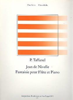 Fantaisie Jean de Nivelle - Paul Taffanel - laflutedepan.com
