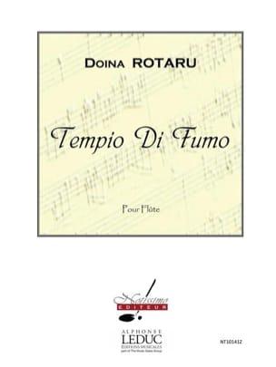 Tempio Di Fumo Doina Rotaru Partition Flûte traversière - laflutedepan
