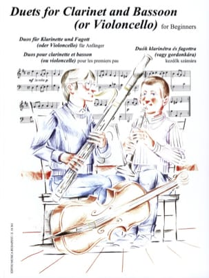Eva - Peter Perenyi - Duets for Clarinet and Bassoon for Beginners - Sheet Music - di-arezzo.com