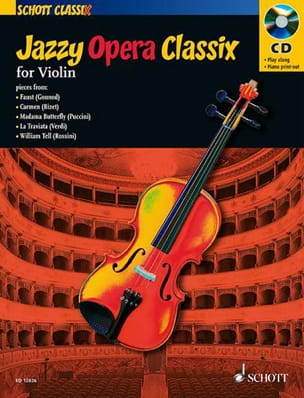 - Jazzy Opera Classix for Violin - Sheet Music - di-arezzo.co.uk