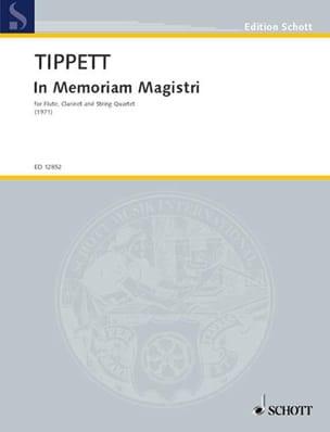 In Memoriam Magistri – Partitur - Michael Tippett - laflutedepan.com
