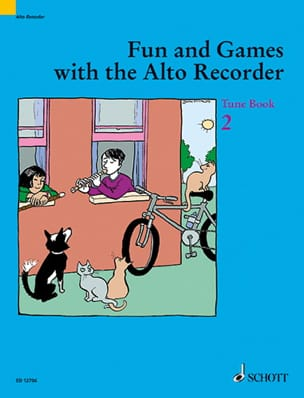 Fun and games with the alto recorder - Tune 2 laflutedepan