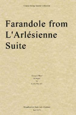 Georges Bizet - Farandole de l' Arlésienne - Partition - di-arezzo.fr