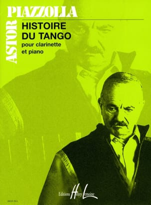 Astor Piazzolla - History of Tango - Piano Clarinet - Sheet Music - di-arezzo.co.uk