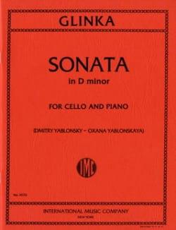 Sonata in D minor - Michail Glinka - Partition - laflutedepan.com