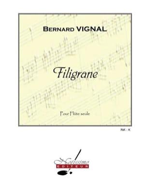 Bernard Vignal - Filigrane - Partition - di-arezzo.fr
