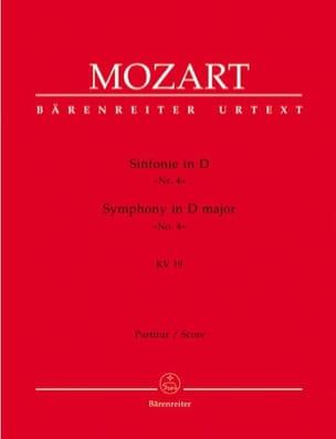 Symphonie Nr. 4 D-Dur KV 19 - Partitur - MOZART - laflutedepan.com