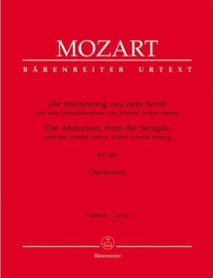 Wolfgang Amadeus Mozart - Die Entführung aus dem Serail KV 384 - Ouvertüre – Partitur - Partition - di-arezzo.fr