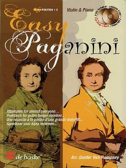 Robert Van Rompaey - Easy Paganini - Sheet Music - di-arezzo.co.uk