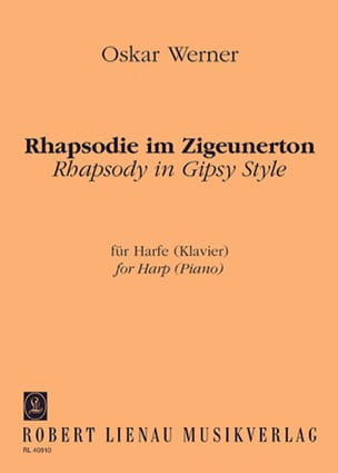 Rhapsodie im Zigeunerton -Harfe Klavier - laflutedepan.com