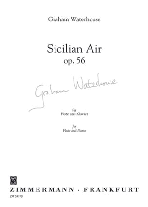 Graham Waterhouse - Sicilian air op. 56 - Sheet Music - di-arezzo.co.uk