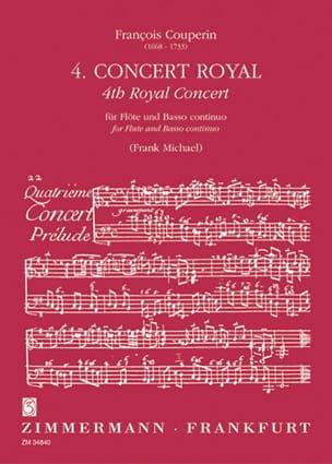 Concert royal n° 4 - Flûte et Bc - laflutedepan.com