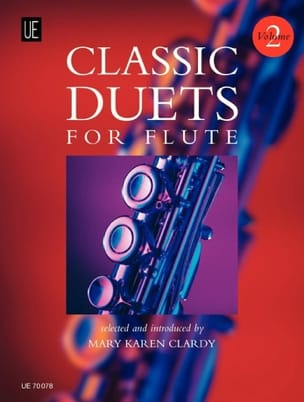 Mary Karen Clardy - Classic duets for Flute – Volume 2 - Partition - di-arezzo.fr