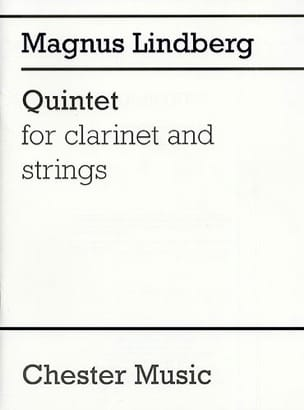 Quintet - Score Magnus Lindberg Partition Grand format - laflutedepan