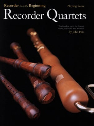 John Pitts - Recorder Quartets - Partition - di-arezzo.fr