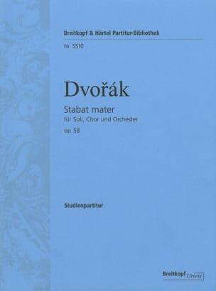 Stabat Mater - Antonin Dvorak - Partition - laflutedepan.com
