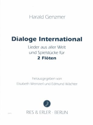 Harald Genzmer - Dialoge International – 2 Flöten - Partition - di-arezzo.fr