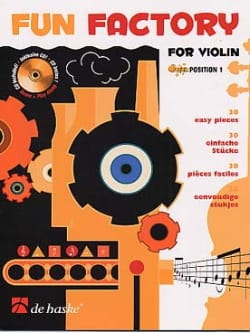 Fun Factory for Violon - Gunter van Rompaey - laflutedepan.com
