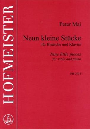 Peter Mai - 9 Kleine Stücke - Partition - di-arezzo.fr