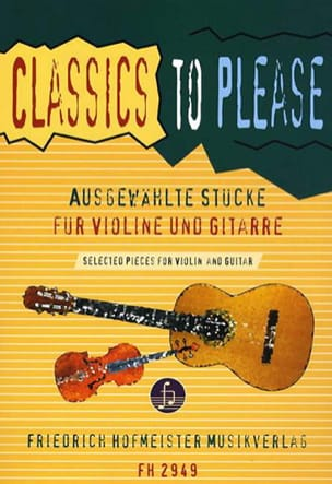 Walter Thomas Heyn - Classics to please - Violin guitar - Sheet Music - di-arezzo.co.uk