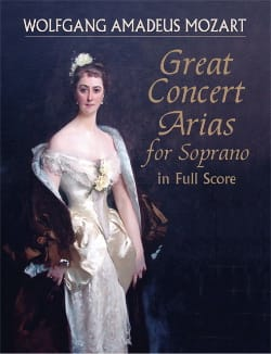 Wolfgang Amadeus Mozart - Great Concert Arias For Soprano - Partition - di-arezzo.fr