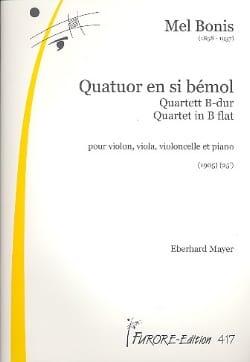 Mel Bonis - Quatuor en sib majeur –Parties - Partition - di-arezzo.fr