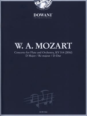 MOZART - Concerto pour flûte KV 314 ré maj. - Partition - di-arezzo.fr