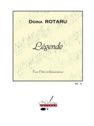 Légende - Doina Rotaru - Partition - laflutedepan.com