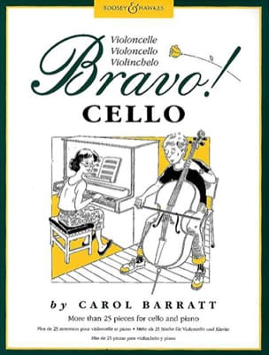 Bravo ! Cello - Carol Barratt - Partition - laflutedepan.com