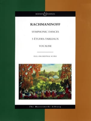 Serge Rachmaninov - Symphonic Dances – 5 Etudes-Tableaux – Vocalise - Partition - di-arezzo.fr