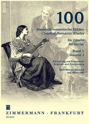 Dausend Gerd-Michael / Höh Volker - 100 Klassisch-romantische Etüden - Volume 1 - Sheet Music - di-arezzo.co.uk