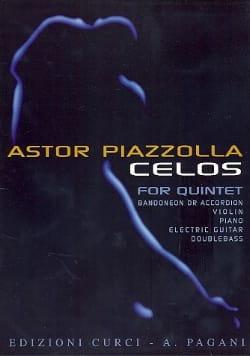 Celos -Score + Parts - Astor Piazzolla - Partition - laflutedepan.com