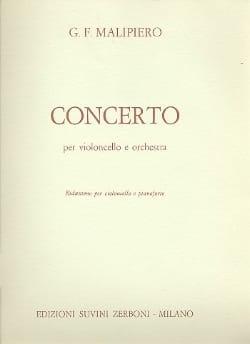 Concerto per violoncello Gian Francesco Malipiero laflutedepan