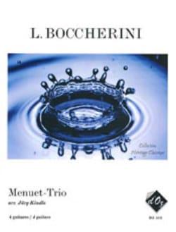 BOCCHERINI - Menuet-Trio - Partition - di-arezzo.fr