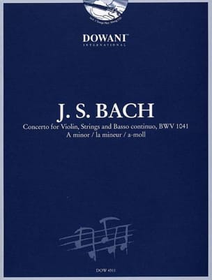BACH - Violin Concerto in the minor BWV 1041 - Sheet Music - di-arezzo.com
