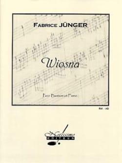 Fabrice Jünger - Wiosna - Partition - di-arezzo.fr